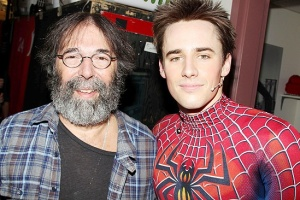 Michael Cohl and Spiderman
