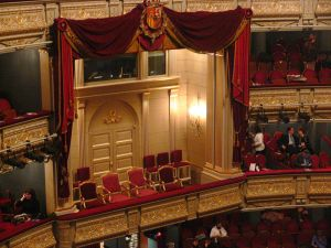 Royal Box, Teatro Real