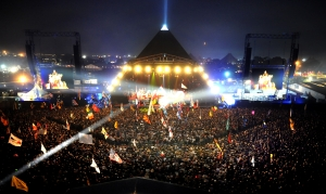 Glastonbury Pyramid Stage