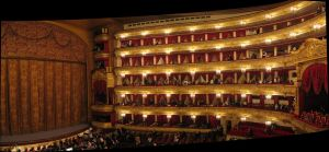The Bolshoi auditorium