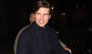 Tom Cruise at Chiltern Firehouse