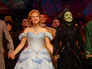 Kerry Ellis and Savannah Stevenson in Wicked