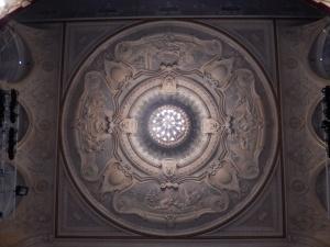 Richmond Theatre: Shakespeare ceiling