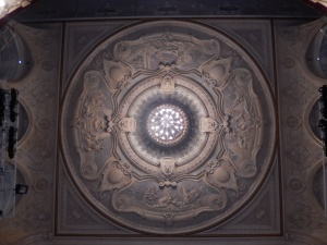 Richmond Theatre: Shakespeare ceiling