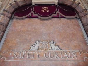 Richmond Theatre: Safety Curtain