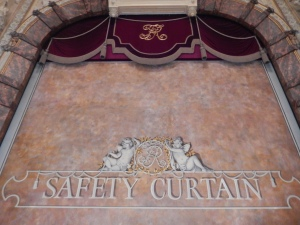 Richmond Theatre: Safety Curtain