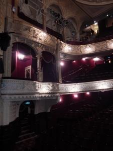 Richmond Theatre: the boxes